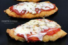 Pizzette di pollo  - Ricetta con e senza Bimby