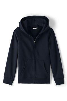 School Uniform Water Resistant Sweatshirt Jacket from Lands' End