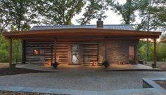 A Modern Rustic Marriage: A Century Old Cabin on the Potomac Gets a Mod Restoration Hopkins & Porter   Apartment Therapy
