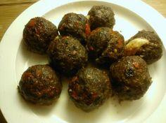 "Lihapullat ""Savory Cheese Meatballs"" - Kotikokki.net"