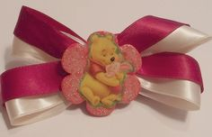 Winnie The Pooh And Piglet Hair Bow | Jenstardesigns - Accessories on ArtFire