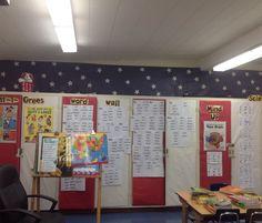 Patriotic theme classroom