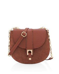 Saddle Crossbody Bag, $88.00, White House Black Market