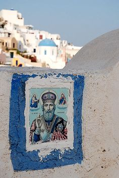 Agios Nikolaos / St. Nicholas is one of the most popular saints of Greece and the patron saint of the sailors