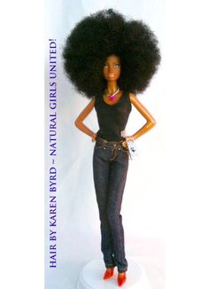 Afro Barbie✔️