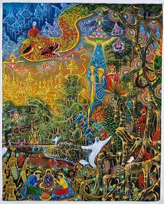 ... Visionary Art: Pablo Amaringo