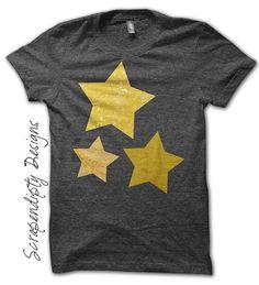 Star Iron on Transfer  Space Iron on Shirt by ScrapendipityDesigns, $2.50
