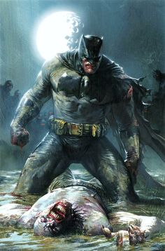 The Dark Knight III: The Master Race variant cover art by Gabriele Dell'Otto!