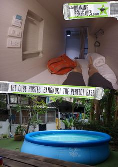 Cube hostel, Bangkok: A sociable escape from the party scene & a tranquil slice of privacy! - The Roaming Renegades
