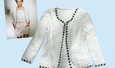 Cardigan im Stil von Dolce und Gabbana