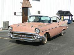 1957 Chevrolet Bel Air Barn Find