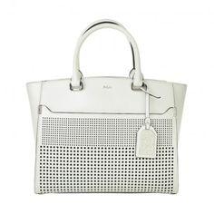 Lauren Ralph Lauren Tasche – Zelma Convertible Tote Bright White – in weiß – Henkeltasche für Damen