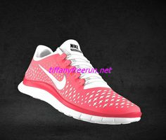 Womens Nike Free 3.0 V4 Hot Punch Reflective Silver Pro Platinum Bright White Lace Shoes