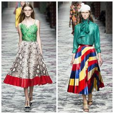 """""""Tender has something to do with Beauty Alessandro Michele on the Women's Spring Summer 2016 Fashion Show.  #alessandromichele #Gucci #woman #women #runway #pasarela #moda #MFW #ss16 #womenstyle #womenswear #womensfashion #fashion #fashionable #fashiongram #fashionweek #milano #italia #newlook #old #details #designer #color #SZReport All the collection here  https://t.co/5xw8q1MukO"""