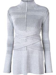 Proenza Schouler turtleneck bandage knit sweater Women Clothing [11661809]