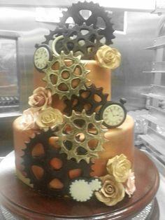 Steampunk cake @Sherri Carlson