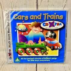 Kids Cd Elc Cars And Trains 60 Minites Of Fun For Children's Toddlers Brand New Cds For Sale, My Ebay, Free Delivery, Trains, Toddlers, Songs, Cars, Children, Shop