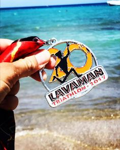 Lavaman Finisher Medal
