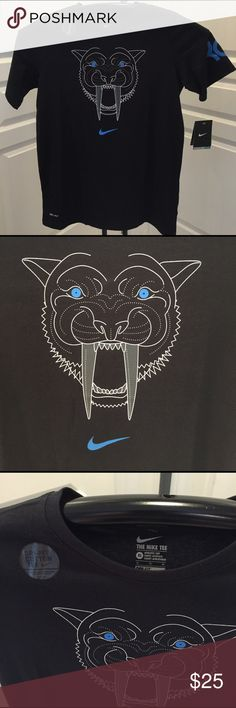 Nike Dri-Fit KD Logo Boys T-Shirt/New This cool Nike Dry KD Logo boys Tee is made with sweat-wicking fabric to help keep you dry and comfortable on the court in Size XL Nike Shirts & Tops Tees - Short Sleeve