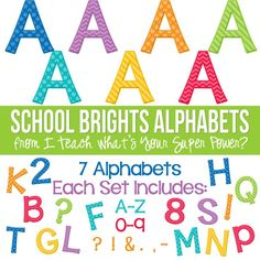 School Brights Set o