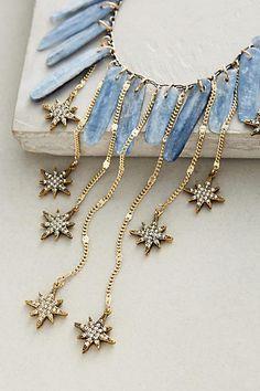 Falling Star Bib Necklace - anthropologie.com