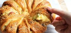 Recept: brunchbrood met bacon, ei en kaas