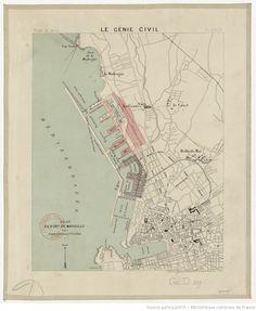 Plan du port de Marseille