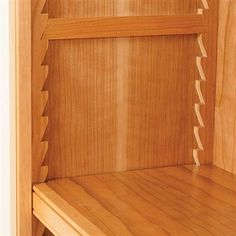 For my latest project building some pine cabinets for a customer of mine, he has requested that the upper cabinet has a sawtooth shelf support system. He lo...
