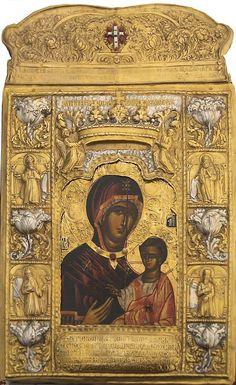 Икона Божией Матери Сумельская – Одигитрия