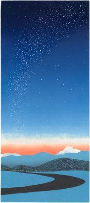 """Star Way"" - Sabra Field, Printmaker"