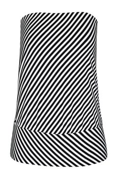 Black White Zebra Animal Print Boob Tube Top 8-10 Festival Bandeau Clubwear NY3