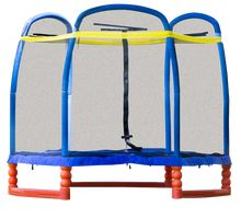 Super 7 Trampoline. 7' kid's indoor/outdoor trampoline complete with enclosure system. $209.99 *Free shipping*
