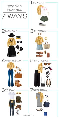 7 Days, 7 Ways: Woody's Yellow Flannel