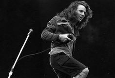 Eddie Vedder in the early 90s