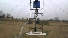 Savonius wind rope pump