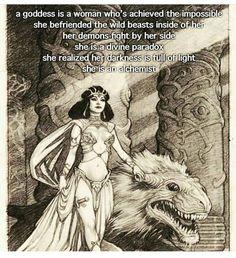 A Goddess is an Alchemist Sacred Feminine, Divine Feminine, Feminine Energy, Magick, Witchcraft, Wiccan, Pagan, Vie Motivation, Mystique