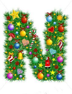 mara jos argeso abecedarios de navidad holiday fonts monogram letters alphabet