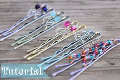 How to make wire wrapped bobby pins! | DongoShop Tutorials!