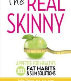 The Real Skinny: Appetite For Health'S 101 Fat Habits & Slim Solutions PDF