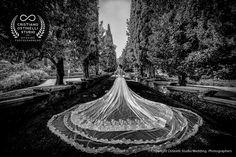 villa d'este wedding photo shoot