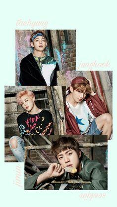 BTS / Vocal Line / Lockscreen