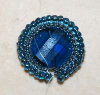 Start Designing Your Own Beaded Jewelry, Part 1: Herringbone Bezel for a Bead - Daily Blogs - Beading Daily