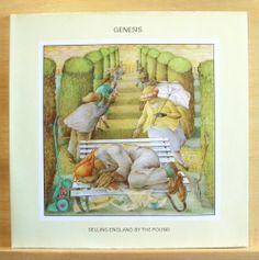 GENESIS - Selling England by the Pound - near mint - Vinyl LP Firth of Fifth RAR