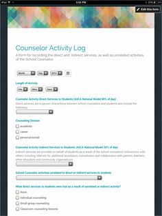 Exploring School Counseling: Google Forms: Collect and Analyze Data to Advocate for Your School Counseling Program