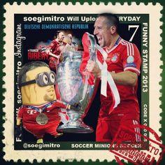 ⚽️ Futbol Stars 2013 @soegimitro - Franck Ribéry Minion