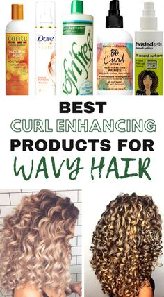 Best Products for defining your waves! #curly #wavy #beauty #hairinspo #HairProductsForCurlyHair