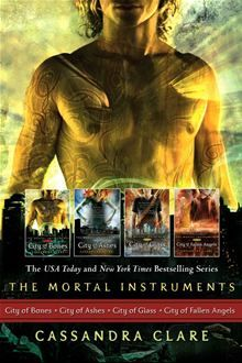 Cassandra Clare: The Mortal Instrument Series (4 books) - City of Bones; City of Ashes; City of Glass; City of Fallen Angels by Cassandra Clare. #Kobo #eBook