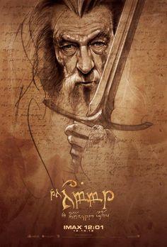 Filme O Hobbit ganha posteres desenhados a mão | Criatives | Blog Design, Inspirações, Tutoriais, Web Design