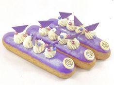 Eclairs, Birthday Cake, Desserts, Food, Tailgate Desserts, Deserts, Birthday Cakes, Essen, Postres