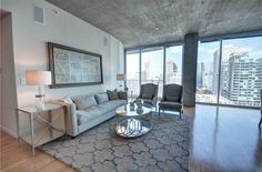 3 Bedroom Midtown High-rise with City View Address: 860 Peachtree Street NE Unit 1301, Atlanta, GA 30308 Neighborhood: Spire in Midtown 3 Beds | 3 Full Baths | 1,875 sqft | Built in 2005 | Listed on 03/10  And yes, it's not over a million. It's actually quite affordable considering its view, location and finishes, especially its two balconies with sweeping views of city skyline. It's the only 3 bedroom available in the Spire.
